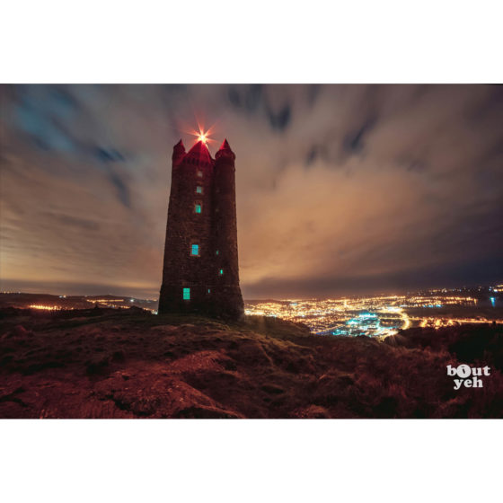 Scrabo Tower Northern Ireland by rskb - photographic print for sale.