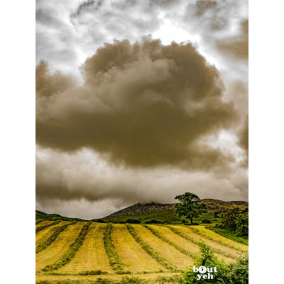 Clonmany cloudscape Donegal by sm - photographic print for sale.