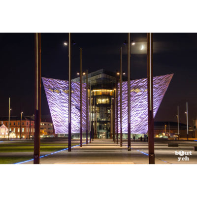 Titanic Belfast at night - photo 1018 6035 by Bout Yeh