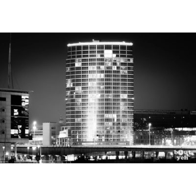 Obel Tower Belfast at night - photo 6055 by Bout Yeh