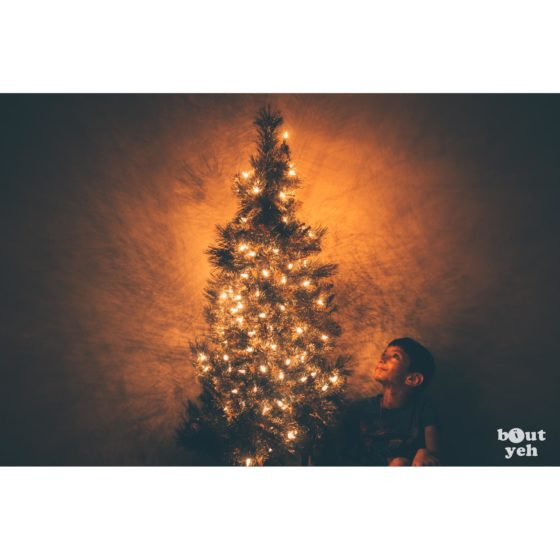 Young boy and Christmas tree - Bout Yeh photographers Belfast photo 713148