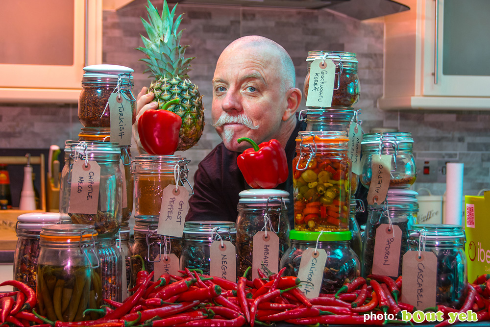 Tim McCarthy, Blackfire Hot sauces photo 6678 featured image - Bout Yeh photographers Belfast