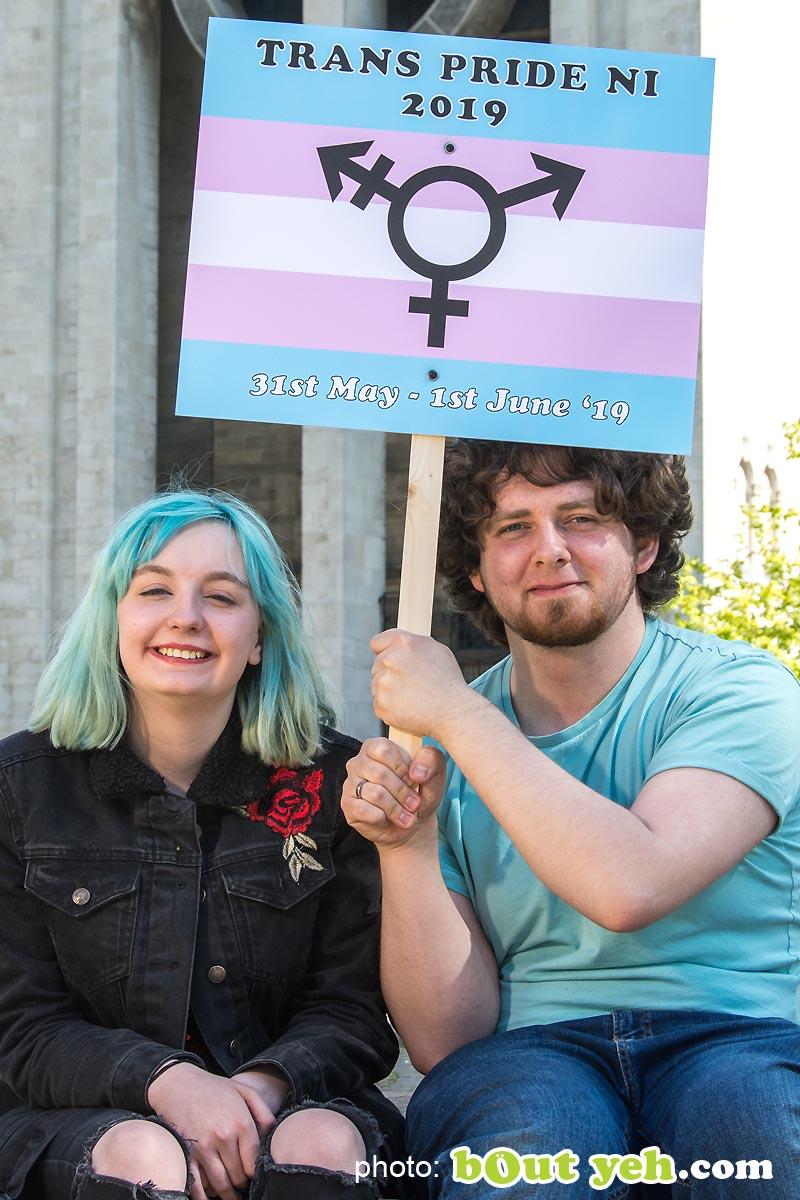 Photographers Belfast photograph 7685 - Trans Pride NI Festival PR photograph
