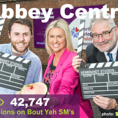 Social Media Marketing Consultants Belfast - Abbey Centre SMM campaign overview photo