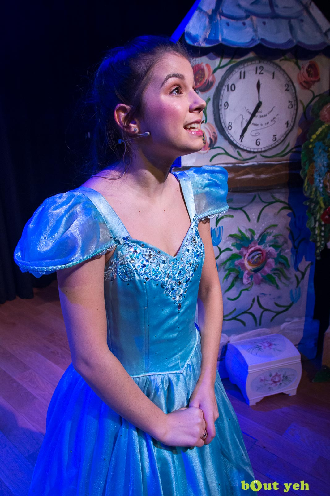 PR photographers Belfast portfolio photo 9944 of Cinderella pantomime at the Old Courthouse Theatre Antrim - Bout Yeh photography and video production services Belfast, Northern Ireland