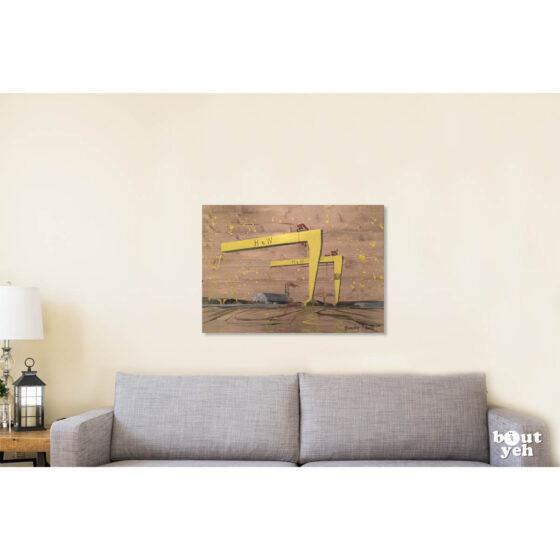 Painting for sale by Irish artist Sandra-Shaw, Purpose