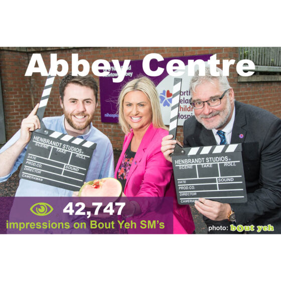 Shoot better images for Social Media - social media marketing tuition, Abbey Centre campaign photo