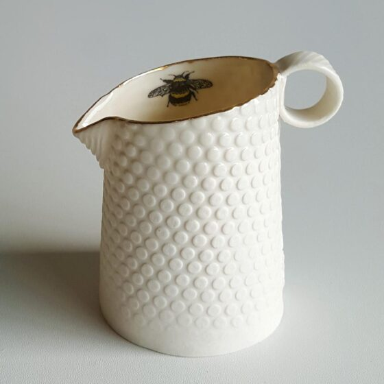 Irish Ceramics Stoneware Porcelain Jug by Red Earth Designs For Sale 134844_001