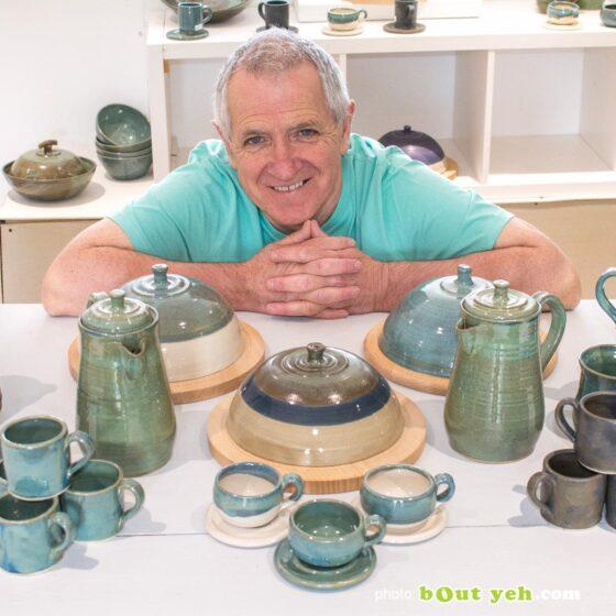Contemporary Irish homeware ceramics artist Ciaran Heaney, photo 1496
