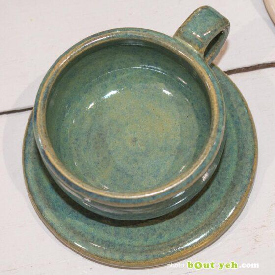 Contemporary Irish homeware ceramics - hand made espresso set, photo 1431