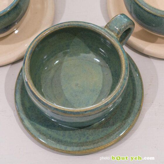 Contemporary Irish homeware ceramics - hand made espresso set, photo 1455