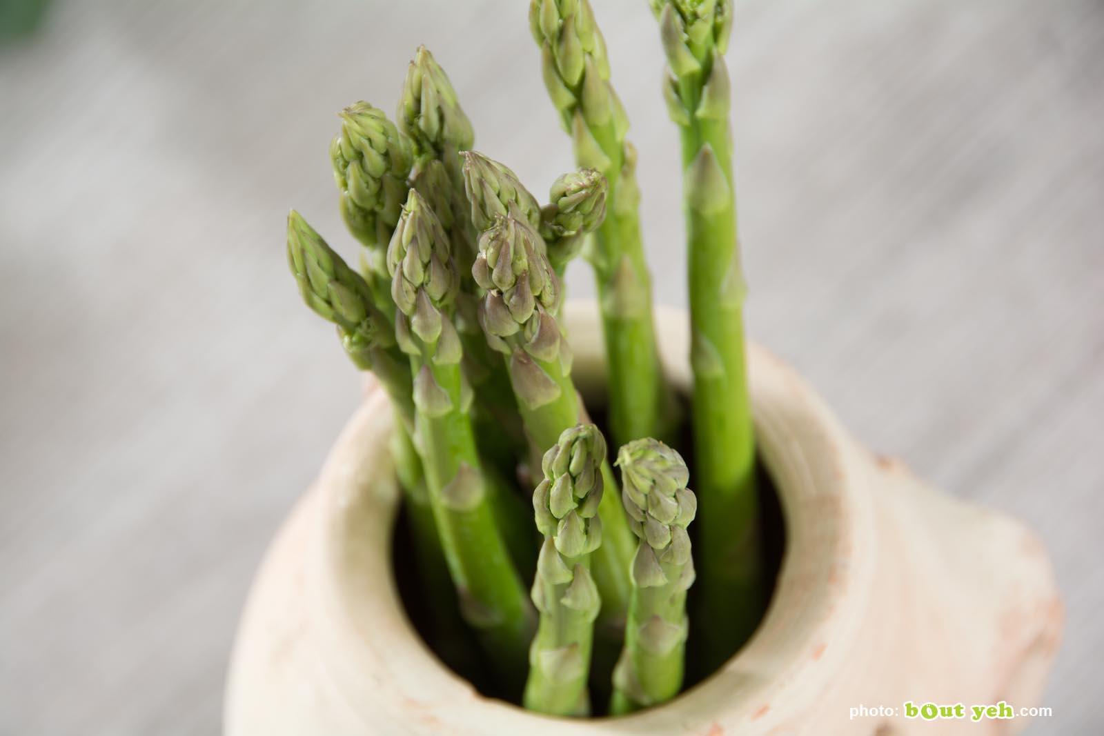 Food photographers Belfast portfolio photo 3365 - fresh asparagus tips