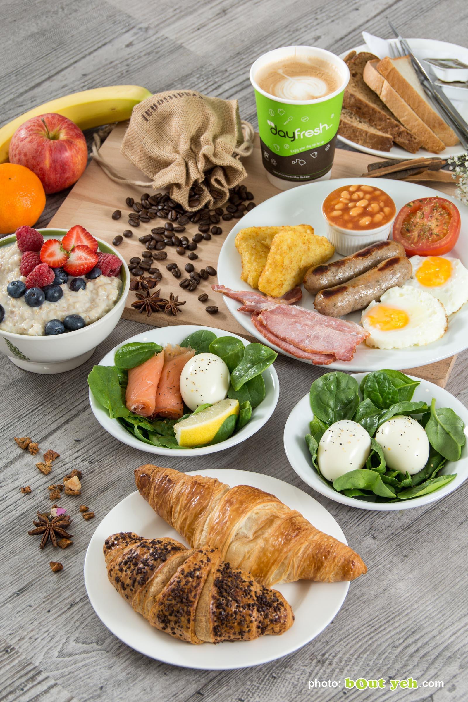 Food photographers Belfast portfolio photo 3708 - mixed breakfast with coffee
