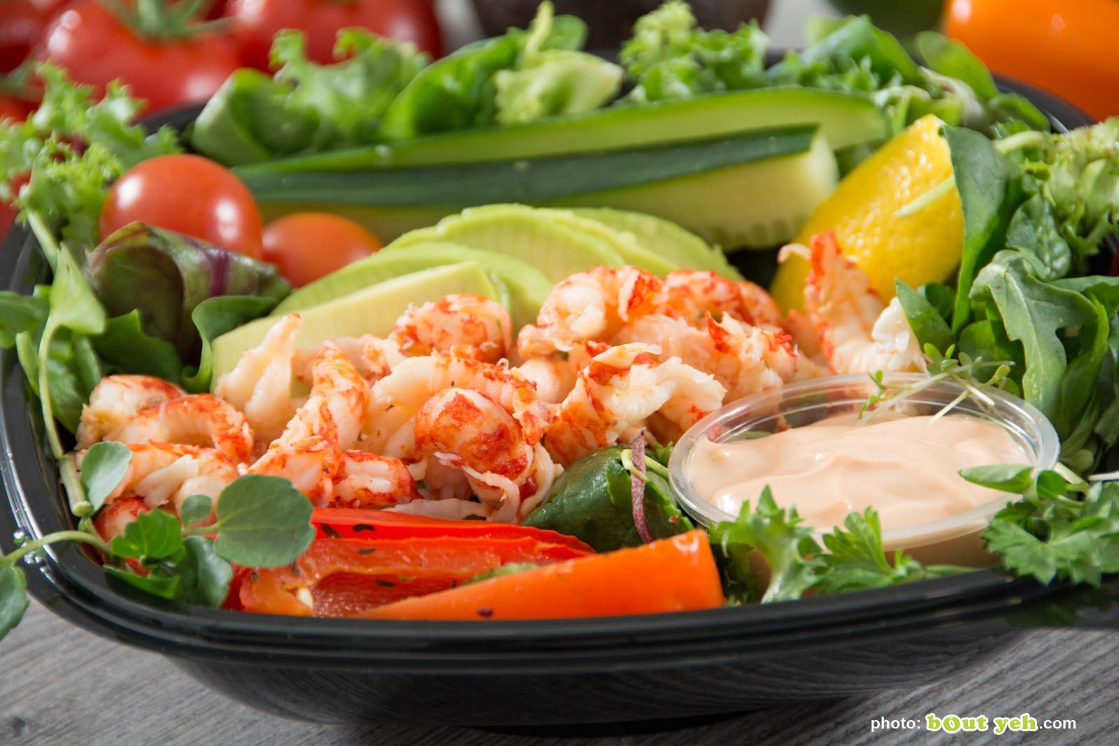 Food photographers Belfast portfolio photo 3515 - prawn salad