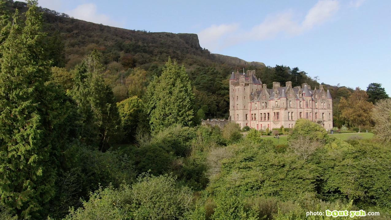 Aerial photo of Belfast Castle and Cave Hill - photo 2 291020