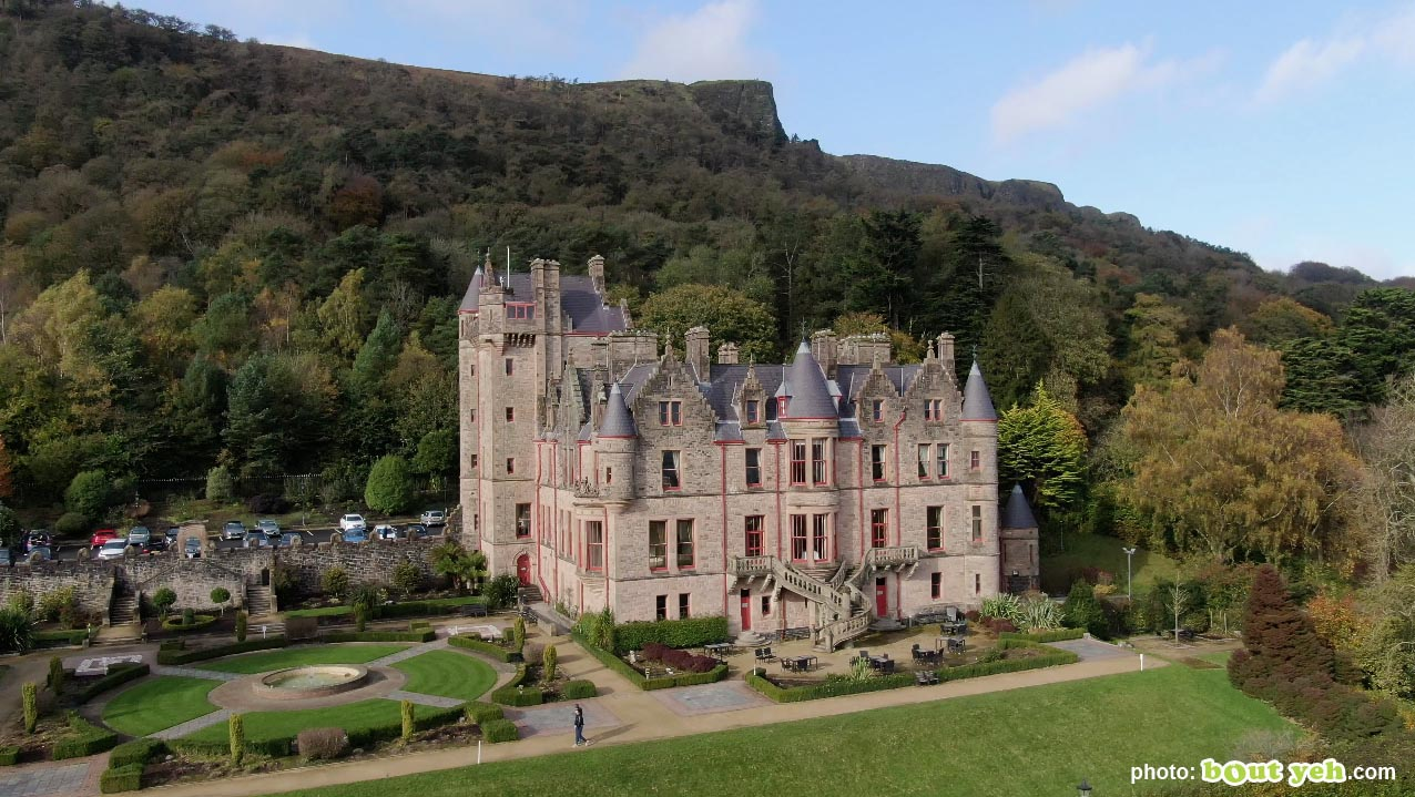 Aerial photo of Belfast Castle and Cave Hill - photo 4 291020