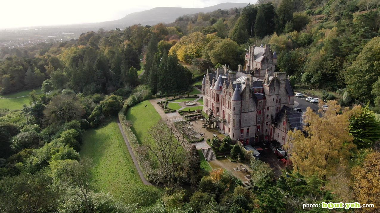 Aerial photo of Belfast Castle and Cave Hill - photo 5 291020