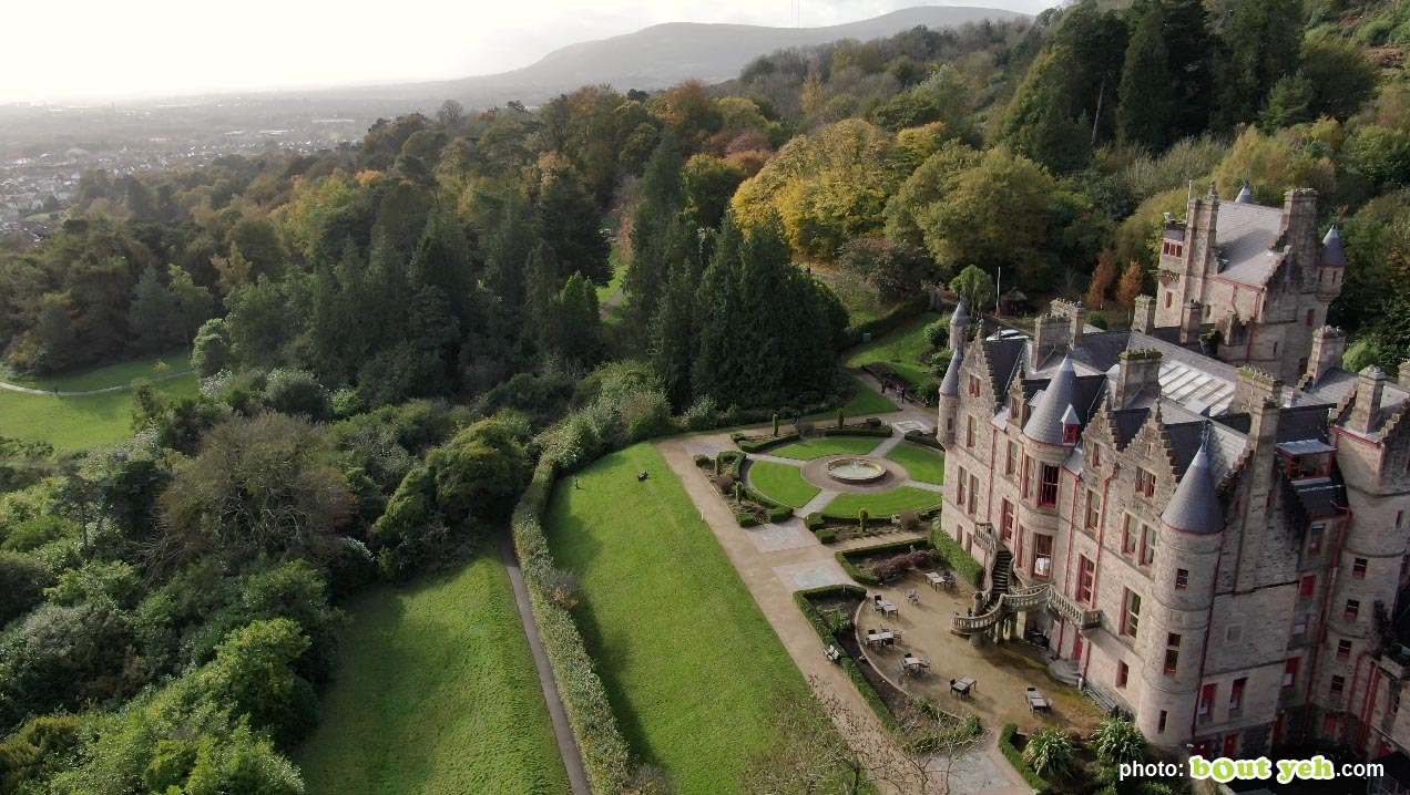 Aerial photo of Belfast Castle and Cave Hill - photo 6 291020
