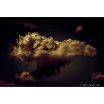 Flitter - limited edition photo of clouds over Newtownabbey, Northern Ireland, by photographer Stephen S T Bradley
