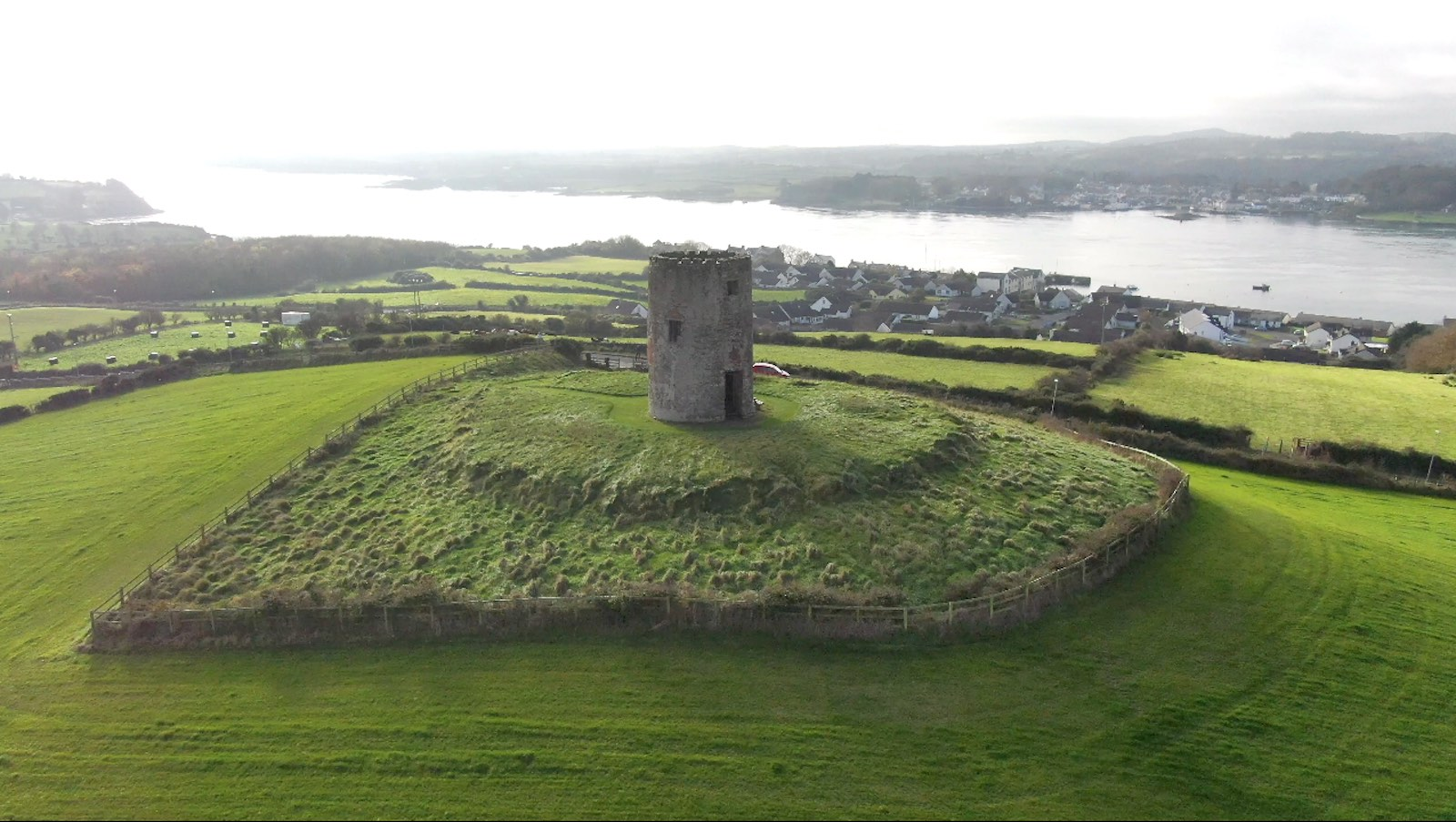 Screenshot of aerial video of Windmill Hill Portaferry by Bout Yeh drone photo and video - image 2