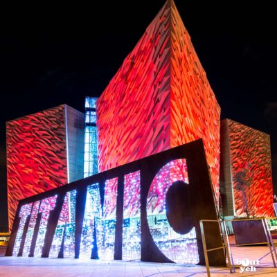 Photograph of Titanic Belfast at night by Bout Yeh photographers Belfast, Northern Ireland - photo 2742