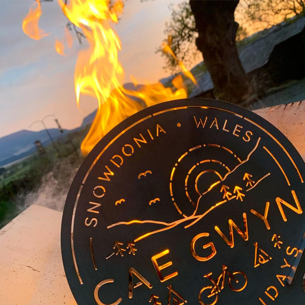 Cae Gwyn firepit