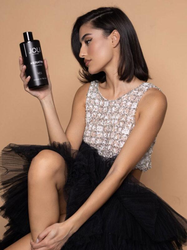 Keratin JOLI Shampoo model