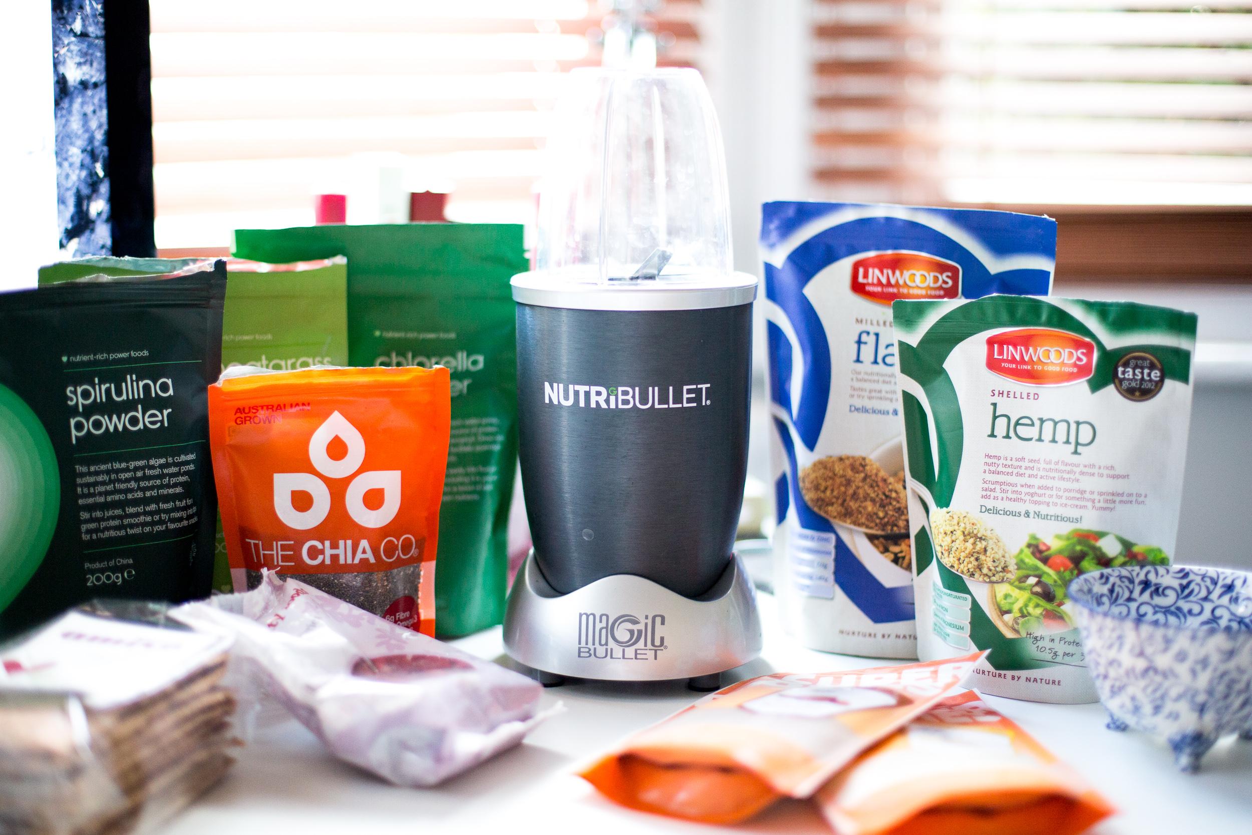 Healthy eating Nutribullet