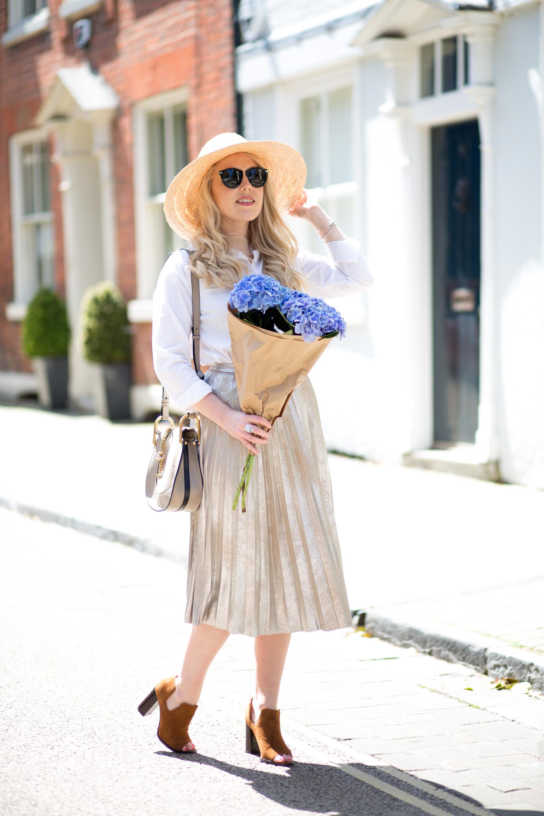 Mediamarmalade_Gold_Pleated_Skirt-4