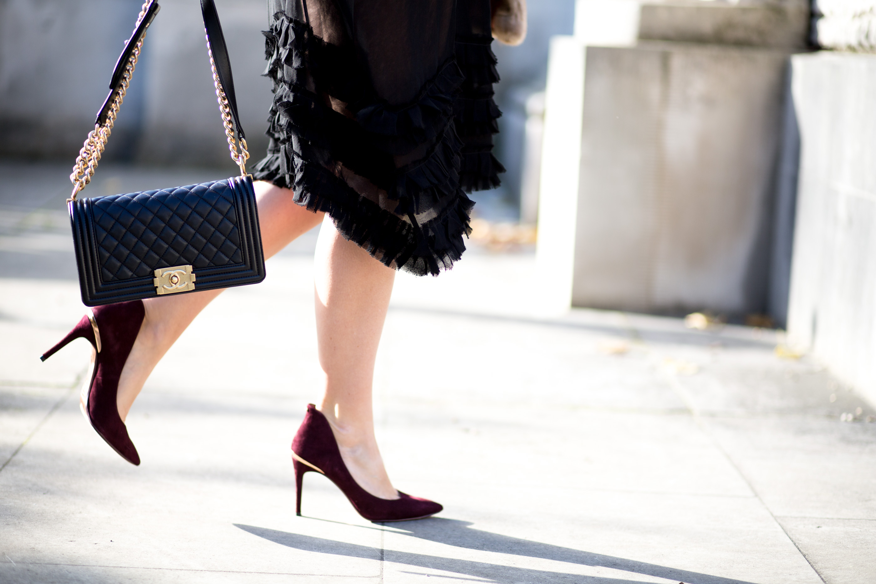 ted baker savvy burgundy court shoes, selfridges, mediamarmalade