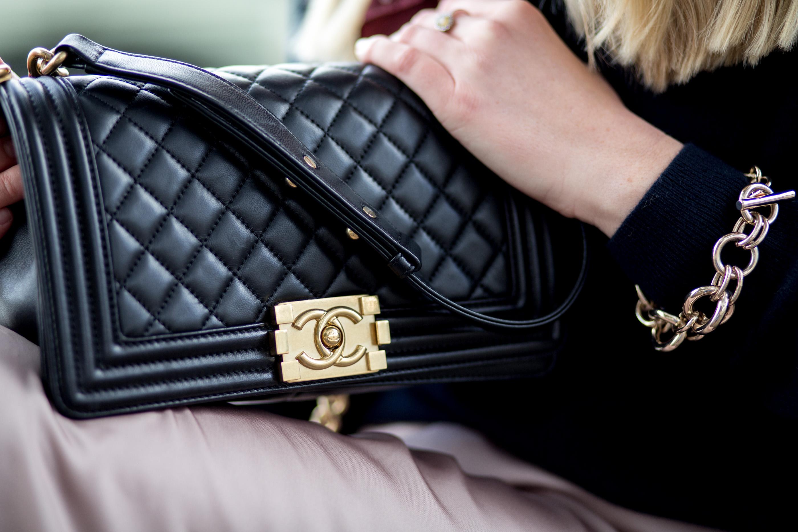 mediamarmalade Chanel Boy Bag