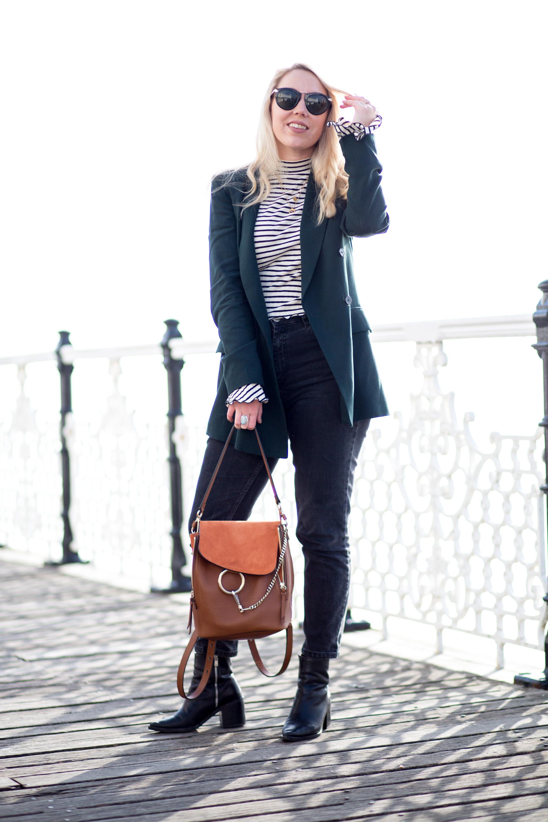Mediamarmalade | Chloe Faye Backpack | Flare Sleeves | Street Style
