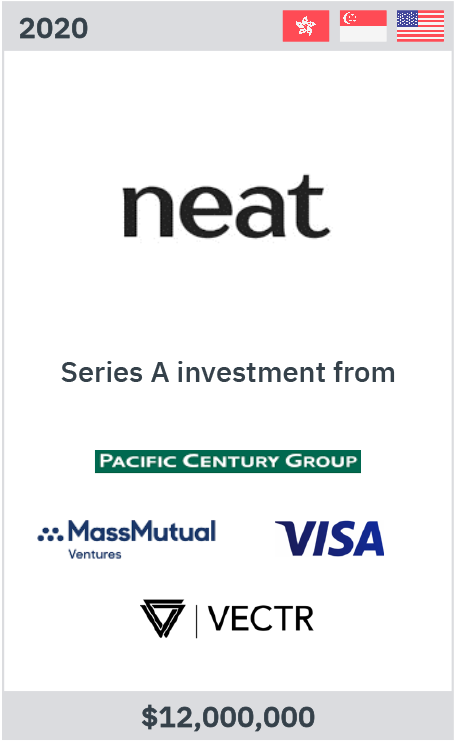 Zelig advises Neat on its USD11m Series A