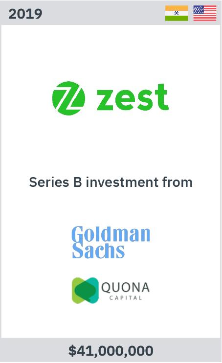 Zelig advises ZestMoney on Series B led Goldman Sachs