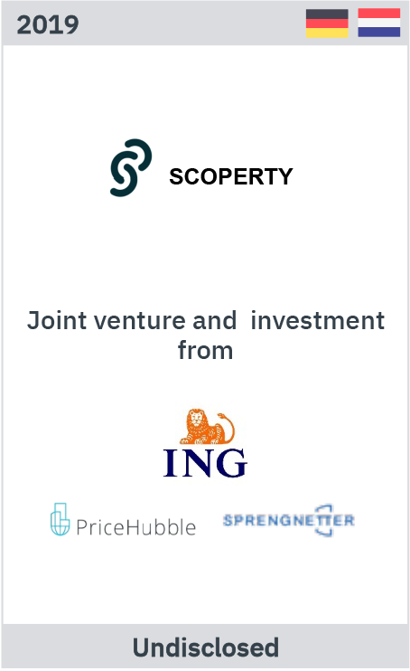 Scoperty – Joint venture infestment from ING