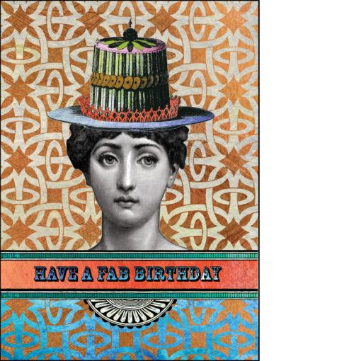 birthday card have a fab birthday