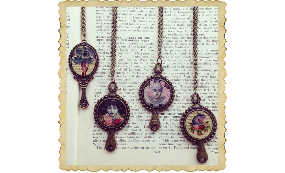 vintage style necklaces