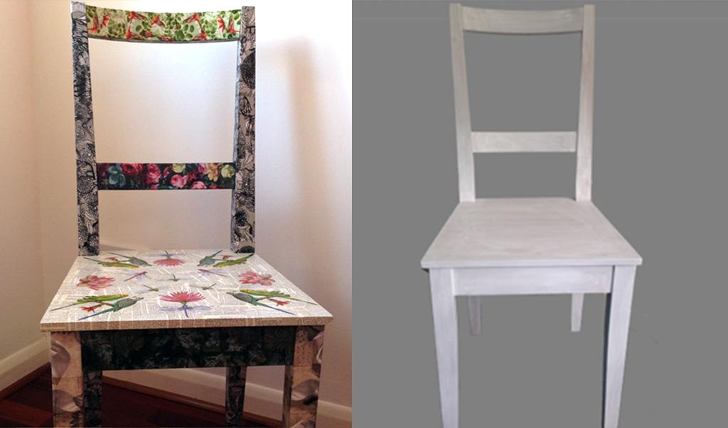 Ikea furniture hacks: kitchen chair