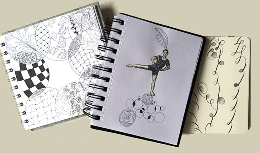 A few pages from my sketchbooks
