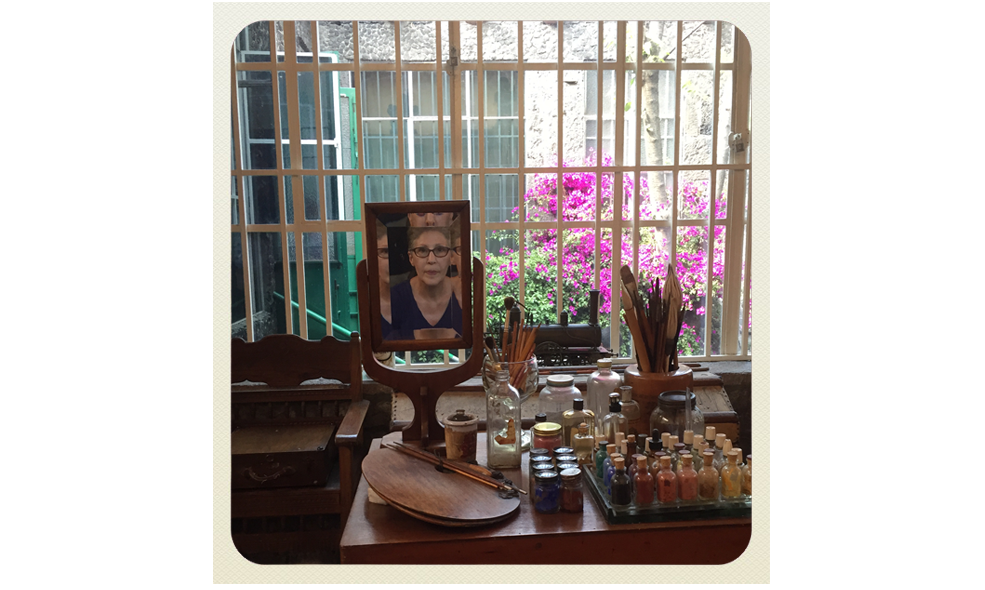 A visit to Casa Azul part I: Frida Kalho's studio