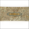 vintage map of peckham SE15 decoupage glass dish