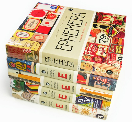 ephemera : forever, always and now. Part of the Uppercase Encyclopaedia of Inspiration