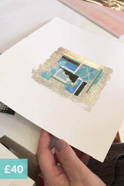 collage and mixed media art workshops