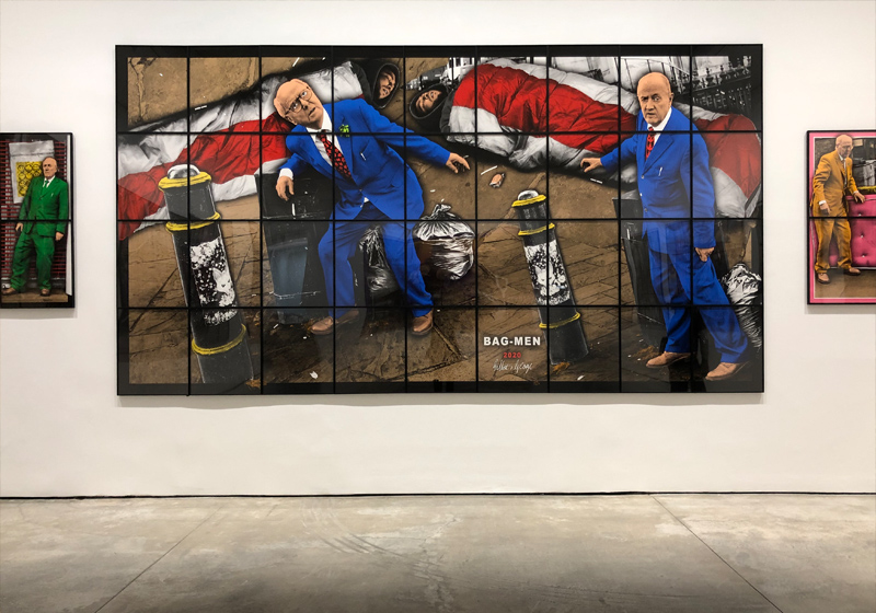 Gilbert and George at White Cube The New Normal Pictures