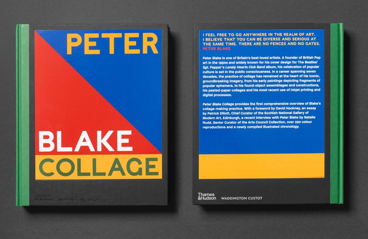 Peter Blake 'Collage' Waddington Custot with Thames & Hudson 2021