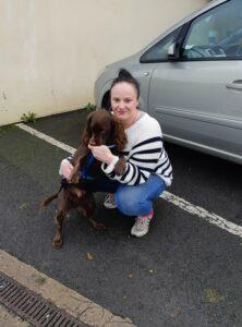 Nicola Hodgson detection dogs