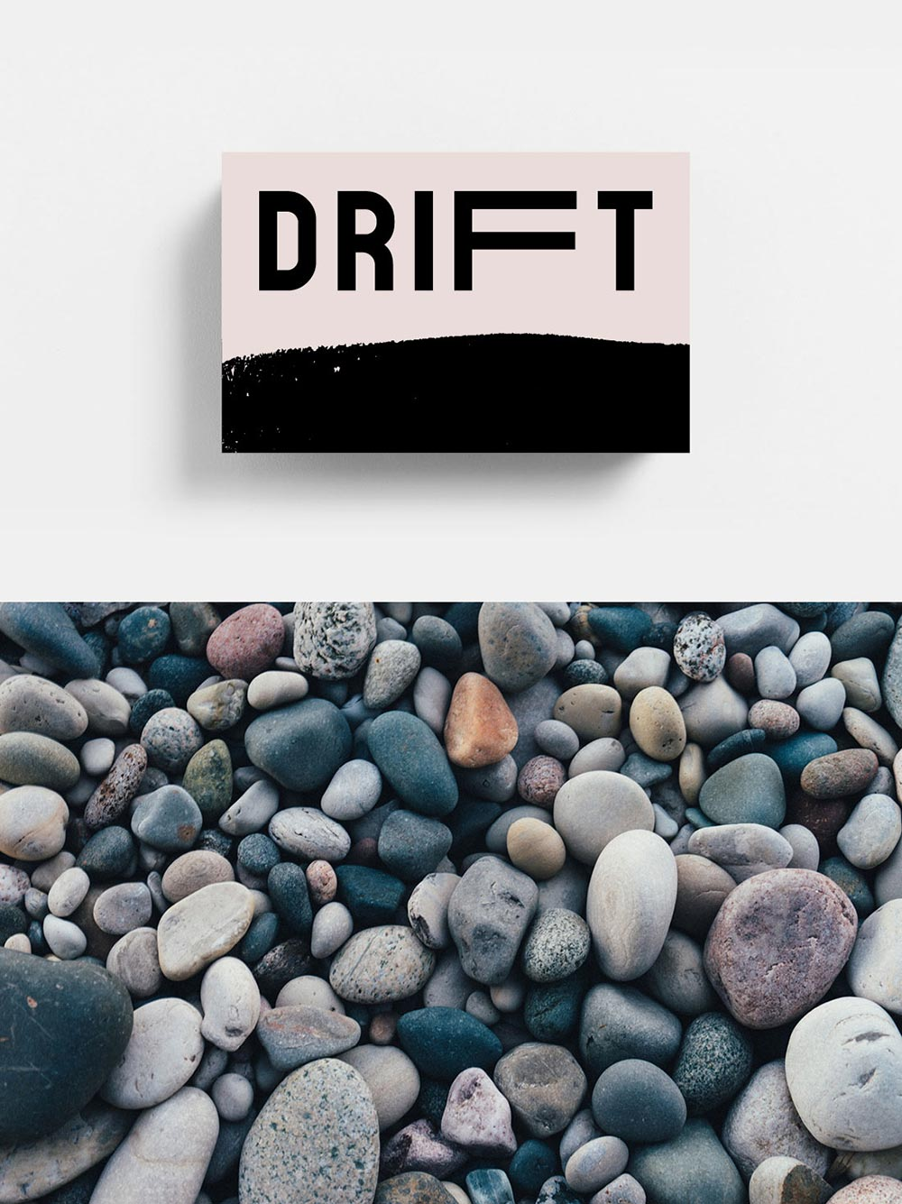 Drift Cafe And Bar Business Card Pebbles Tremolo