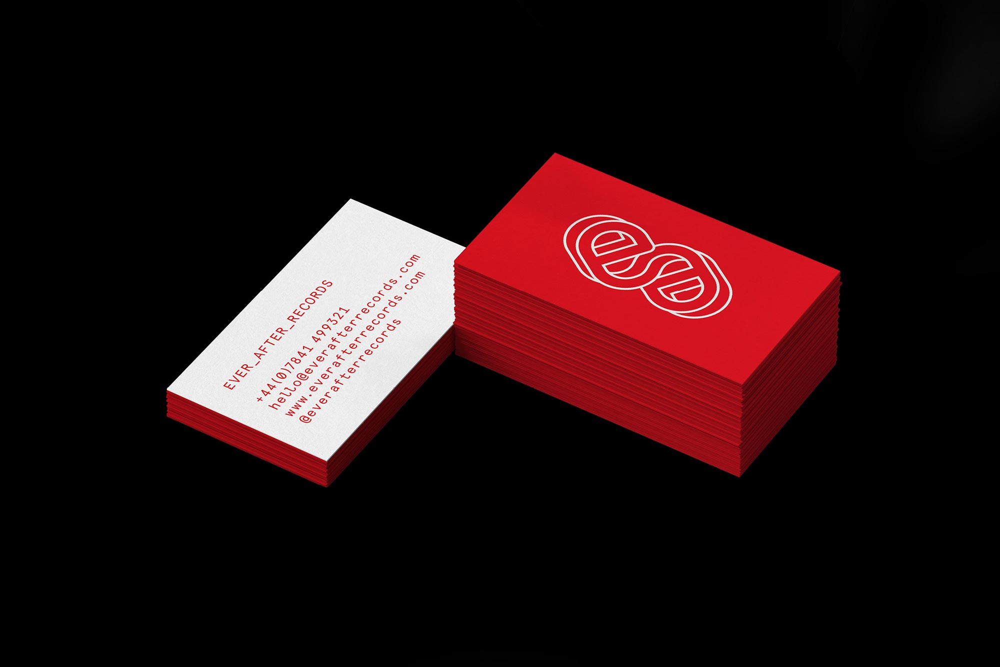 Ever After Records Business Card Tremolo