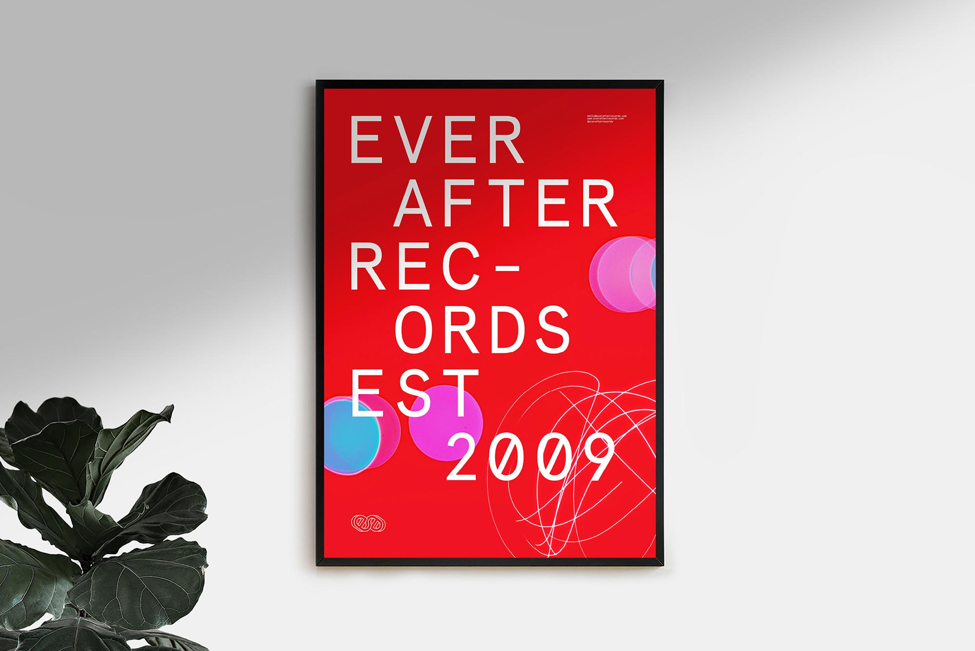 Ever After Records Poster Tremolo
