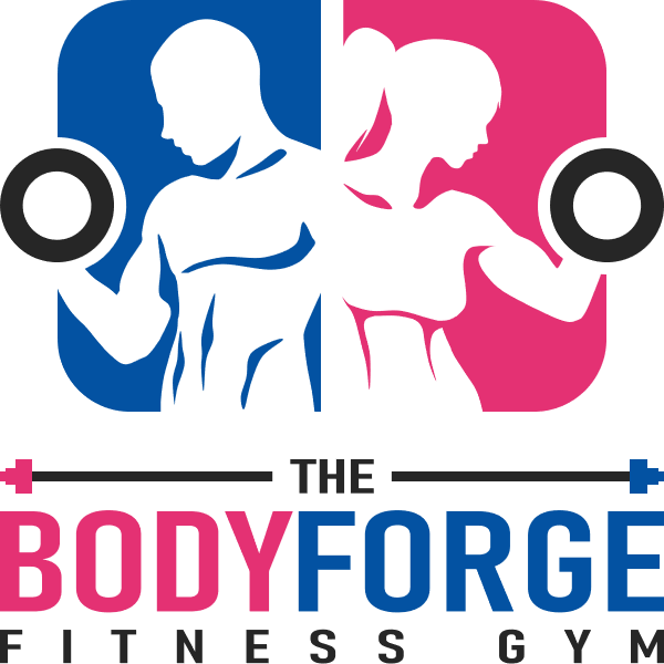 Logo Lockup Vertical - The Body Forge Fitness Gym
